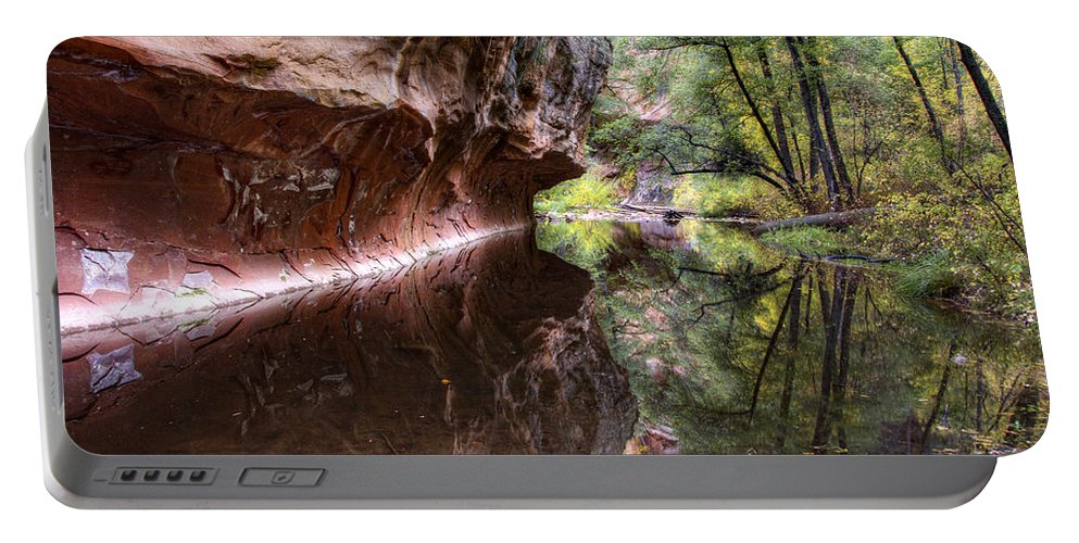 West Fork Portable Battery Charger featuring the photograph An Autumn Day In West Fork by Saija Lehtonen