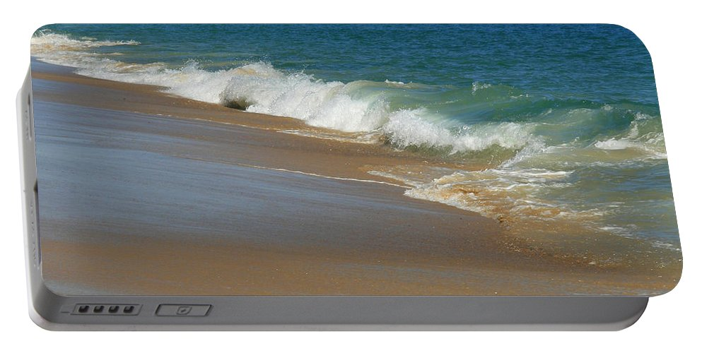 Ocean Portable Battery Charger featuring the photograph An Ocean View by Neal Eslinger