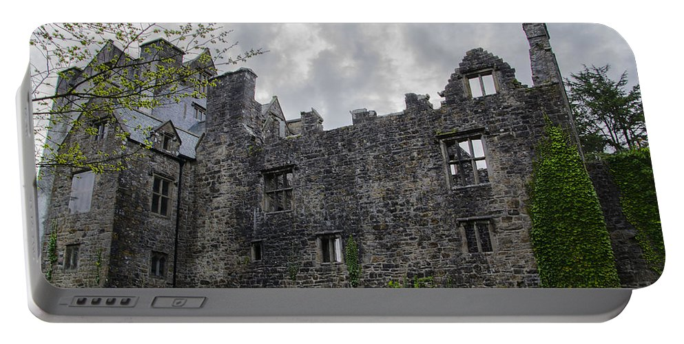 Ancient Portable Battery Charger featuring the photograph Ancient Donegal Castle by Bill Cannon