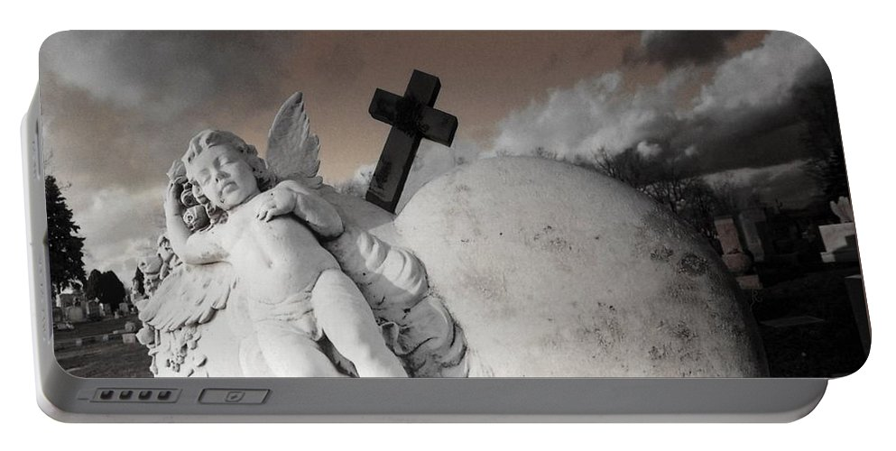 Angel Portable Battery Charger featuring the photograph Angel Heart by Gothicrow Images