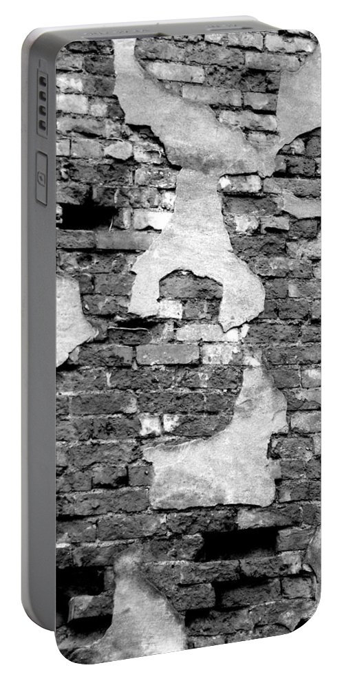 Brick Portable Battery Charger featuring the photograph Angry Decay by Donna Blackhall
