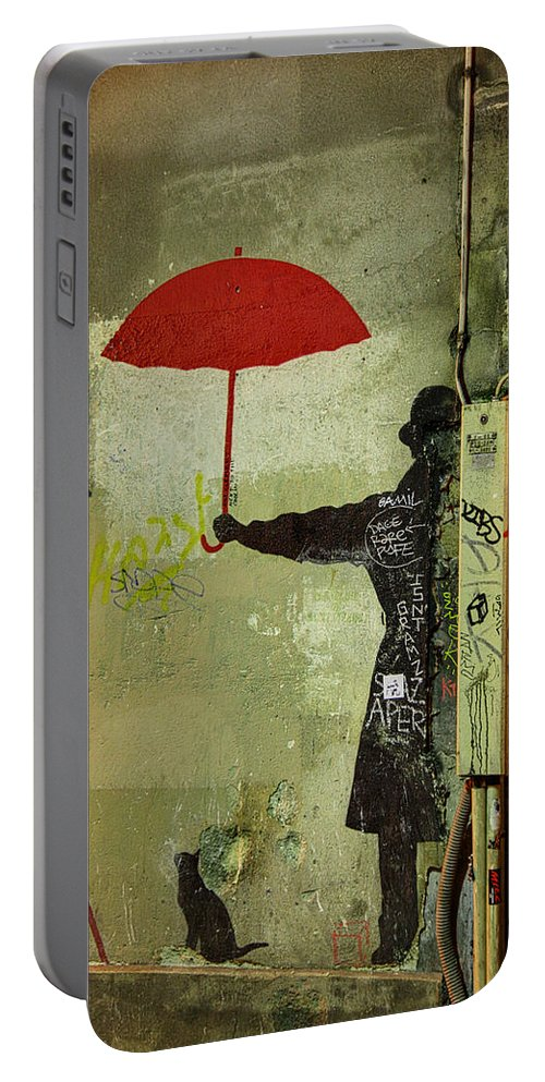France Portable Battery Charger featuring the photograph Animal Lover In Paris by Metro DC Photography