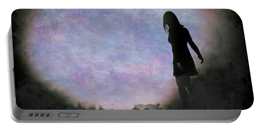 Loriental Portable Battery Charger featuring the photograph Another World by Loriental Photography