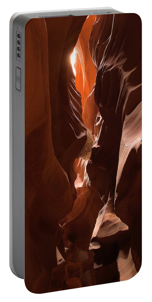 Antelope Canyon Portable Battery Charger featuring the photograph Antelope Canyon 5 by Richard J Cassato