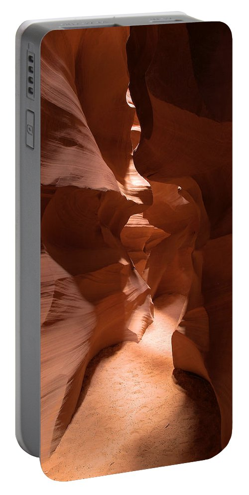 Antelope Canyon Portable Battery Charger featuring the photograph Antelope Canyon 9 by Richard J Cassato