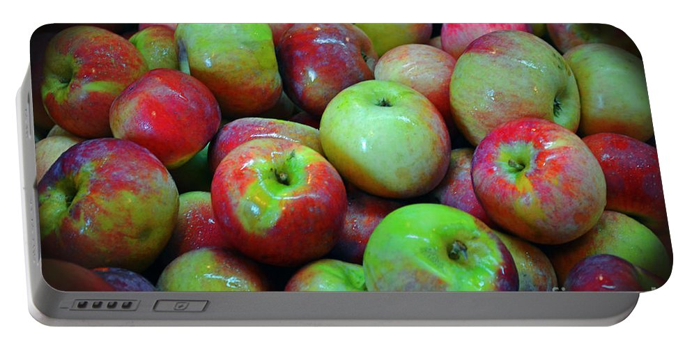 Apple Portable Battery Charger featuring the photograph Apples Apples And More Apples by Kevin Fortier