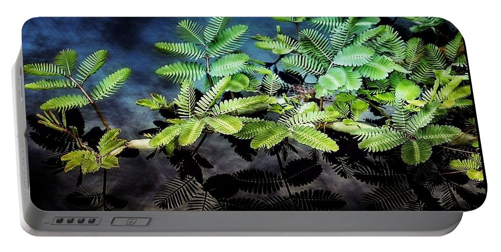 Plants Portable Battery Charger featuring the photograph Aquatic Leaves by Joyce Baldassarre