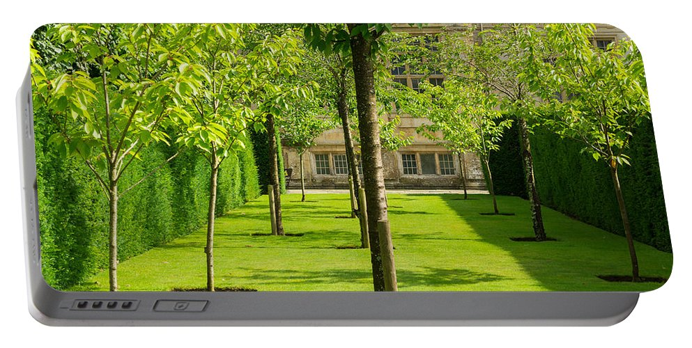 Garden Portable Battery Charger featuring the photograph Arboretum by Mair Hunt