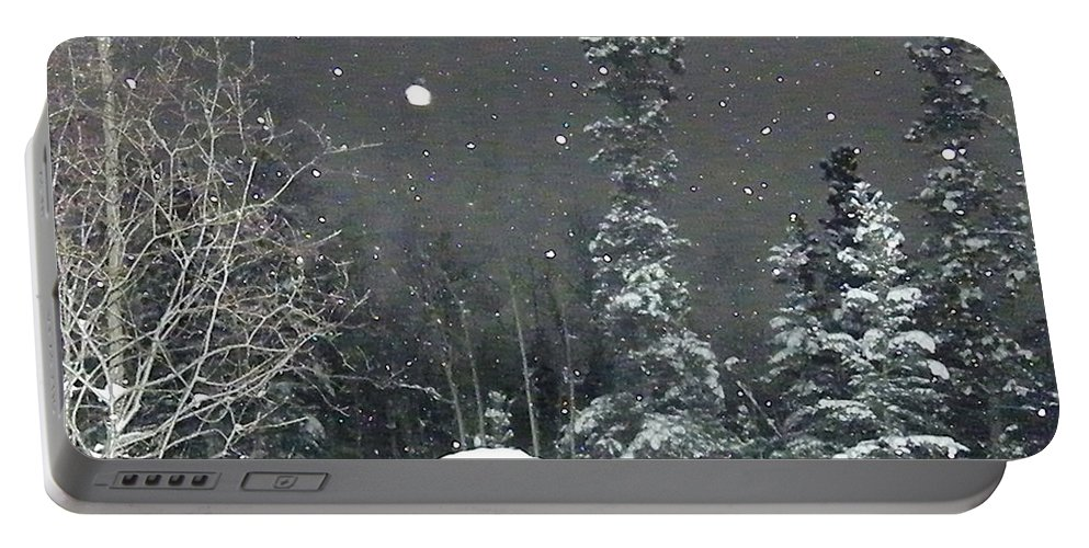 Snow Portable Battery Charger featuring the photograph Arc De Neige by Brian Boyle