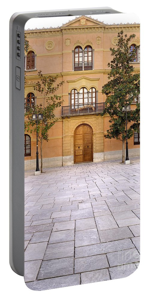 Archbishop Portable Battery Charger featuring the photograph Archbishop's Palace by Guido Montanes Castillo