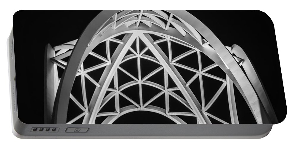 2008 Portable Battery Charger featuring the photograph Arches And Angles 2 by Melinda Ledsome