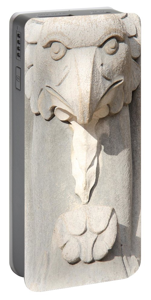 Architecture Portable Battery Charger featuring the photograph Architectural Detail by Adrienne Franklin