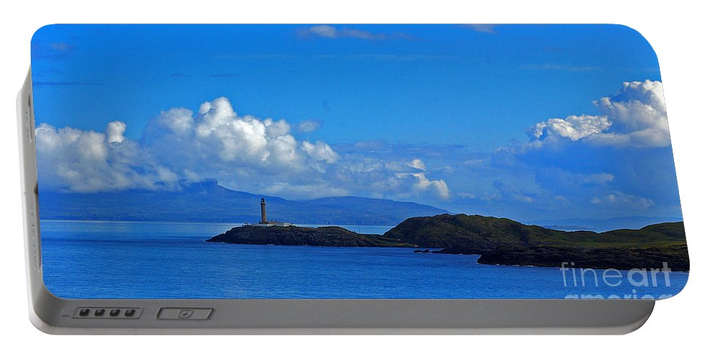 Ardnamurchan Lighthouse Portable Battery Charger featuring the photograph Ardnamurchan Lighthouse 4 by Nancy L Marshall
