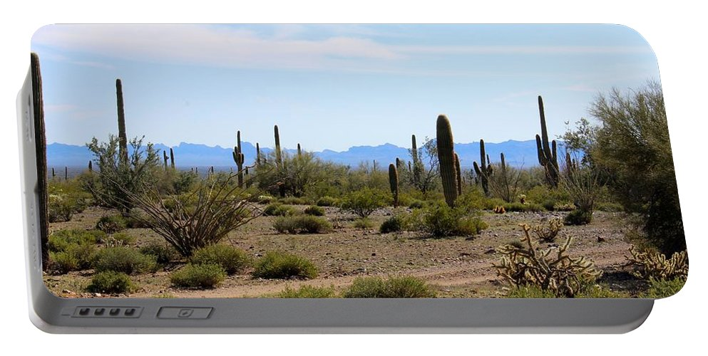 Atv Portable Battery Charger featuring the photograph Arizona Desert Ride by Tiffany Erdman