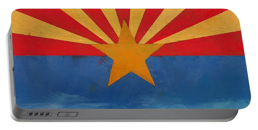 Art Portable Battery Charger featuring the painting Arizona by Michael Creese