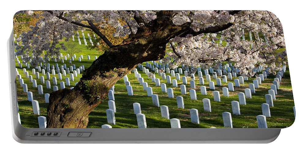 Arlington Portable Battery Charger featuring the photograph Arlington National Cemetary by Brian Jannsen