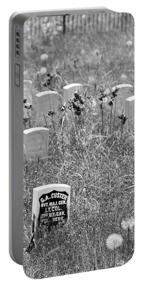 Custer Portable Battery Charger featuring the photograph Arrogance by Dan Wells