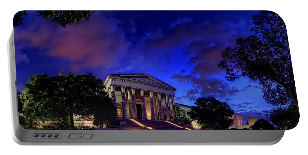 Metro Portable Battery Charger featuring the photograph Art Road by Metro DC Photography