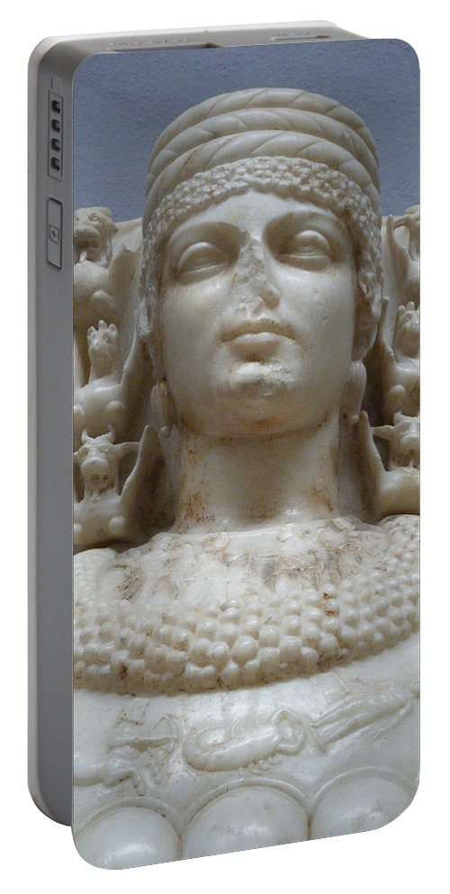 Artemis Portable Battery Charger featuring the photograph Artemis by Ellen Henneke