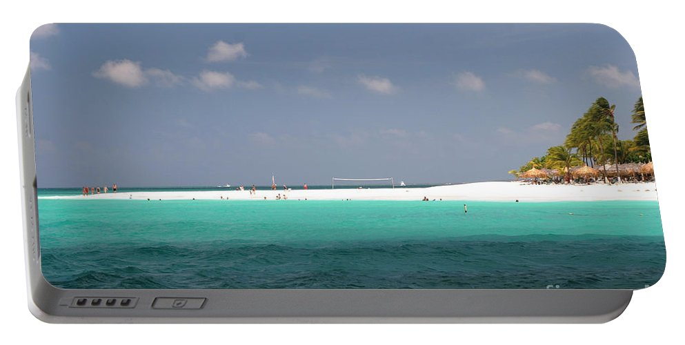 Aruba Portable Battery Charger featuring the photograph Aruba by Living Color Photography Lorraine Lynch