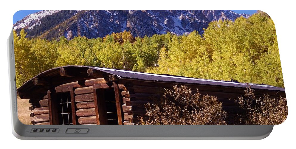 Ashcroft Portable Battery Charger featuring the photograph Ashcroft In Late September by Tonya Hance