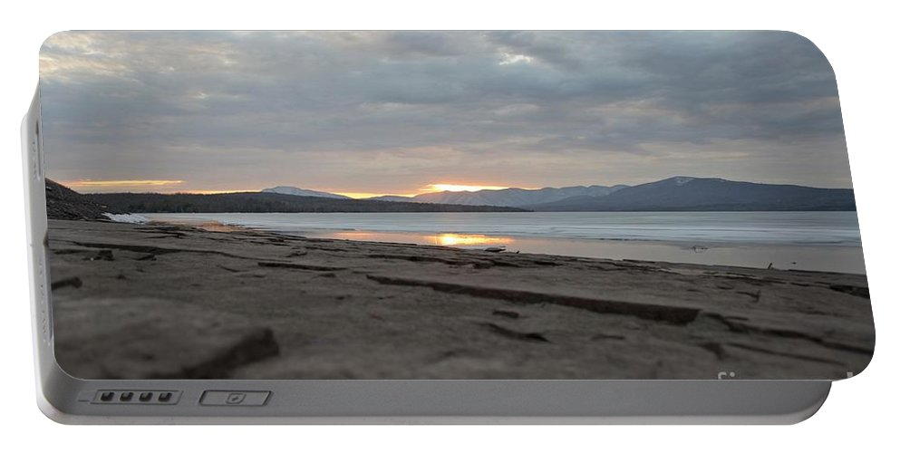 Water Portable Battery Charger featuring the photograph Ashokan Reservoir 32 by Cassie Marie Photography