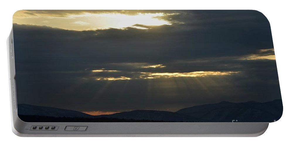 Water Portable Battery Charger featuring the photograph Ashokan Reservoir 9 by Cassie Marie Photography