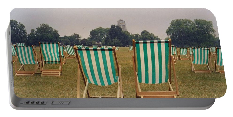 Hyde Park Portable Battery Charger featuring the photograph Assemblage by Christine Jepsen