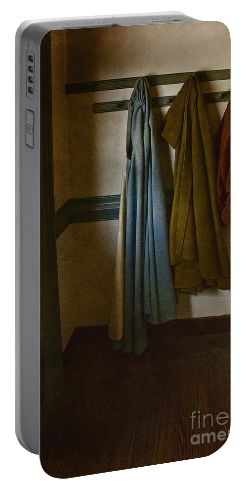 Female Portable Battery Charger featuring the photograph At Home by Margie Hurwich