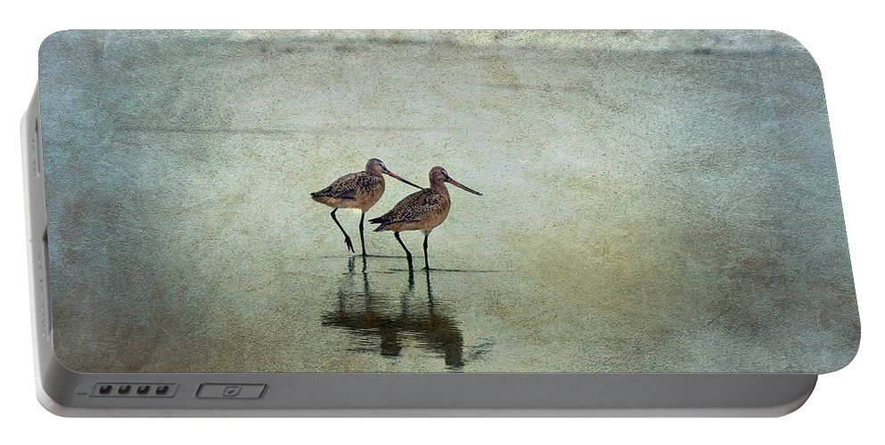 Bird Portable Battery Charger featuring the photograph At The End Of A Day by Maria Ismanah Schulze-Vorberg