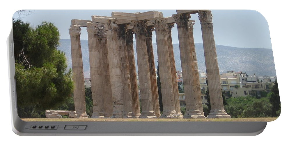 Athens Portable Battery Charger featuring the photograph Athens 1 by Kimberly Maxwell Grantier