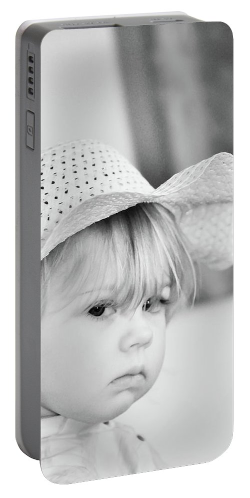 Baby Portable Battery Charger featuring the photograph Aubrey by Trish Tritz