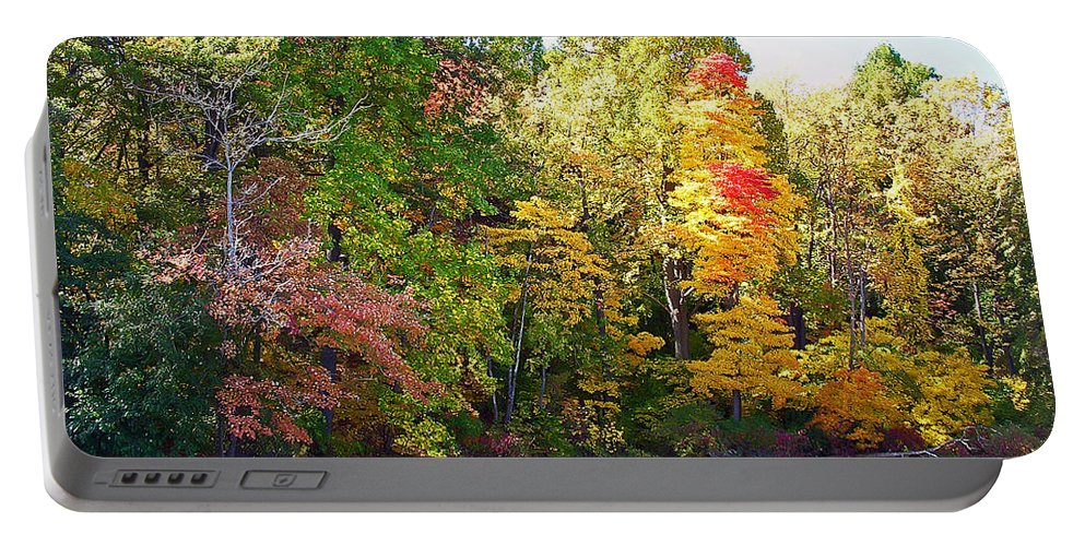 Durhand Eastman Park Portable Battery Charger featuring the photograph Autumn Beauty by Aimee L Maher ALM GALLERY