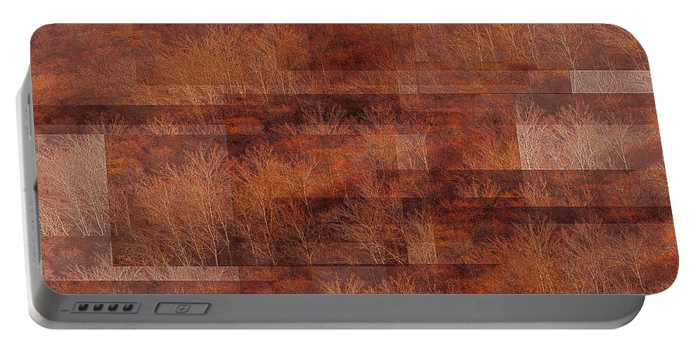 Impressionism Portable Battery Charger featuring the photograph Autumn Forest Of The Northern Song by Anders Hingel