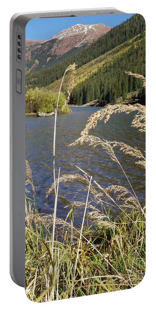 Maroon Bells Portable Battery Charger featuring the photograph Autumn In The Maroon Bells by Tonya Hance