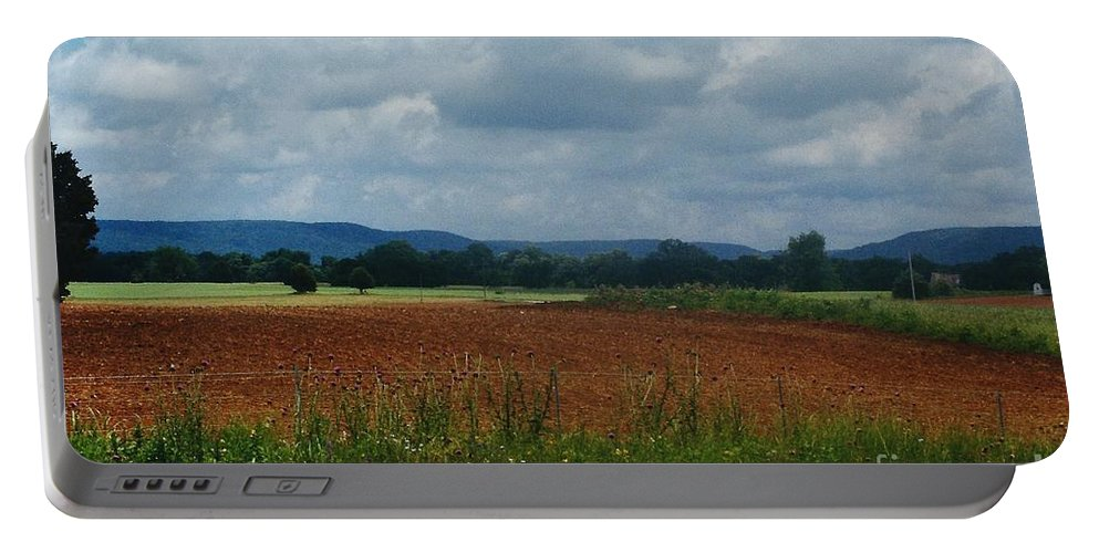 Landscape Portable Battery Charger featuring the photograph Autumn Mountain by D Hackett