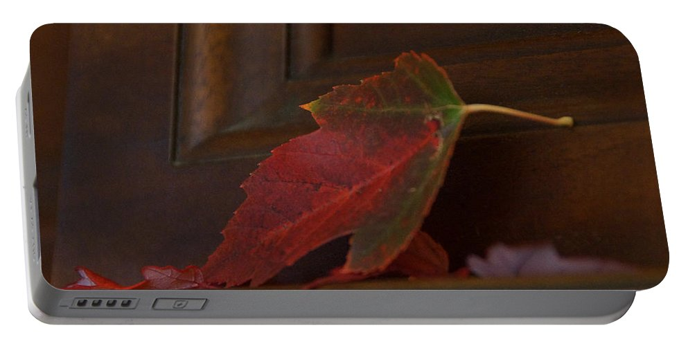 Autumn Portable Battery Charger featuring the photograph Autumn Piano 5 by Mick Anderson