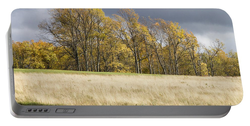 Bill Swindaman Photography Portable Battery Charger featuring the photograph Autumn Skies Canaan Valley Of West Virginia by Bill Swindaman