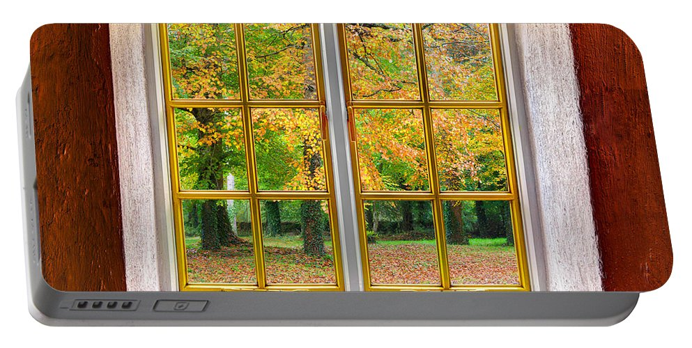 Architecture Portable Battery Charger featuring the photograph Autumn View by Semmick Photo