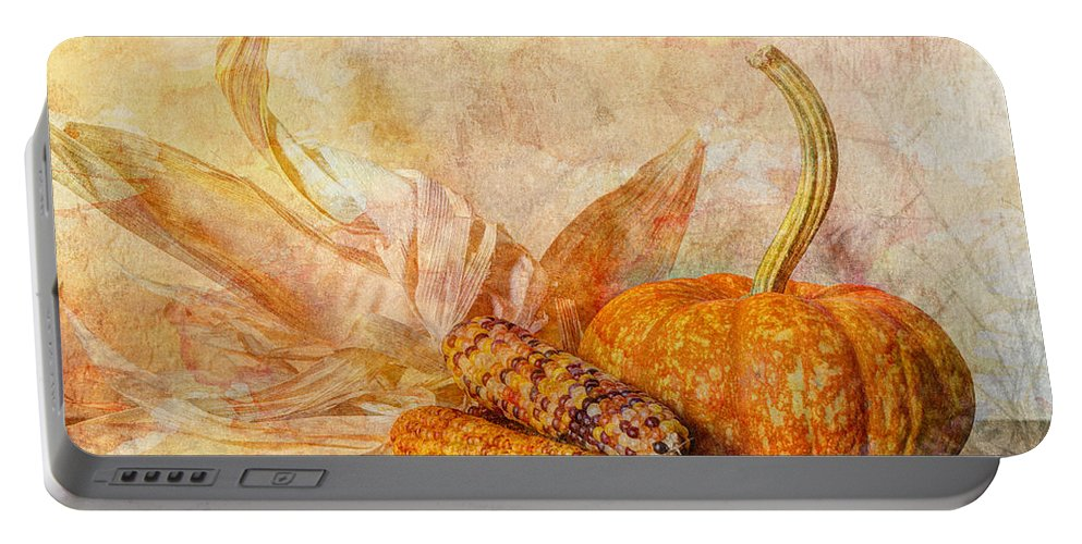 Autumn Portable Battery Charger featuring the photograph Autumn's Bounty II by Heidi Smith