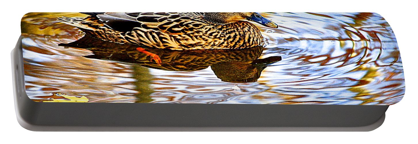 Autumn Portable Battery Charger featuring the photograph Autumns Brilliance by Frozen in Time Fine Art Photography