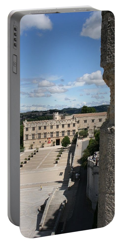 City Portable Battery Charger featuring the photograph Avigon View by Christiane Schulze Art And Photography