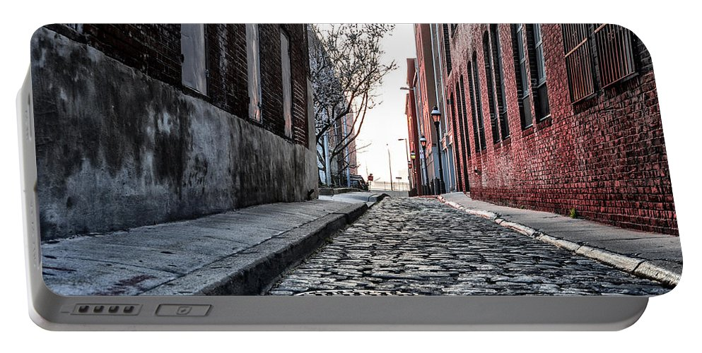 Back Portable Battery Charger featuring the photograph Back Alley by Bill Cannon