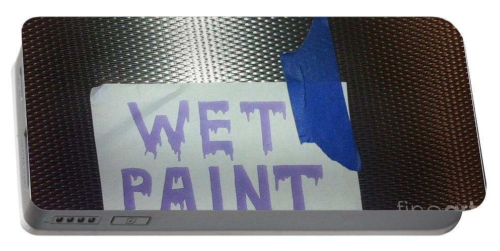 Wet Paint Portable Battery Charger featuring the photograph Back East 11 by Marlene Burns