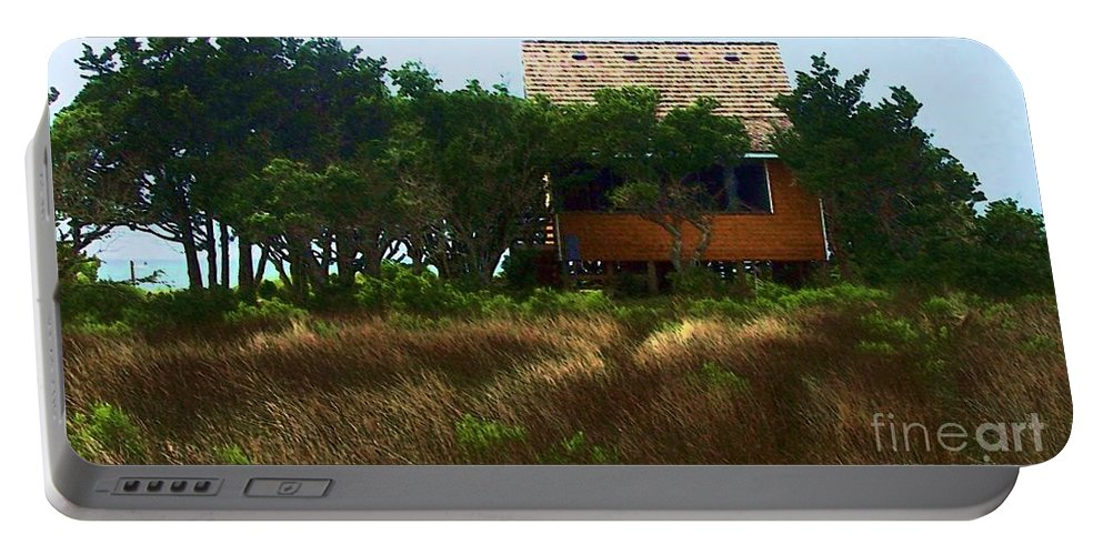 Beach Portable Battery Charger featuring the photograph Back To The Island by Debbi Granruth