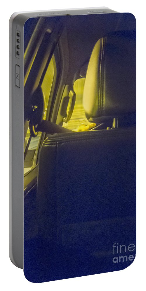 Drive Portable Battery Charger featuring the photograph Backseat by Margie Hurwich
