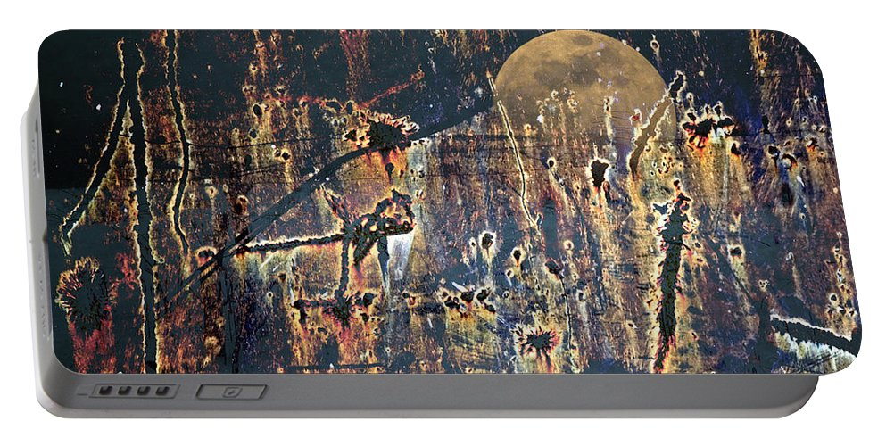 Moon Portable Battery Charger featuring the photograph Bad Moon Rising by John Stephens