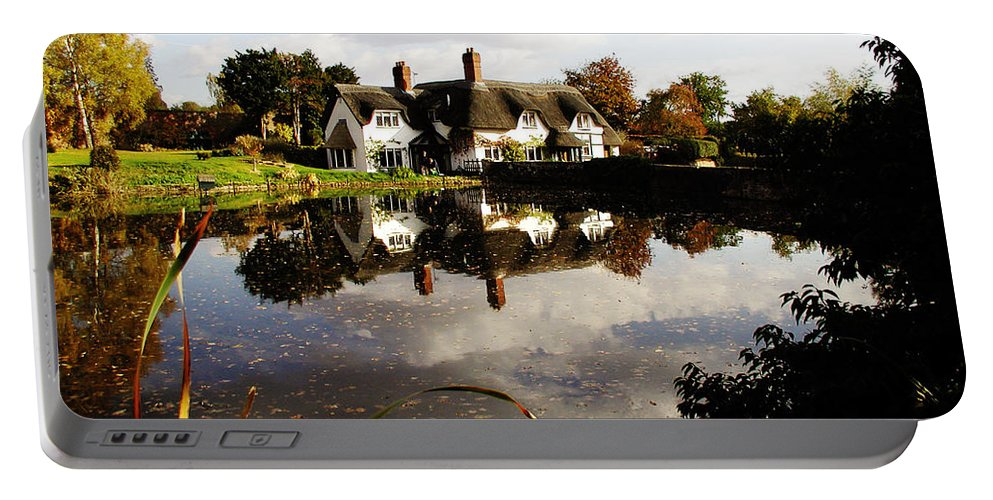 England Portable Battery Charger featuring the photograph Badger House by Neil Finnemore