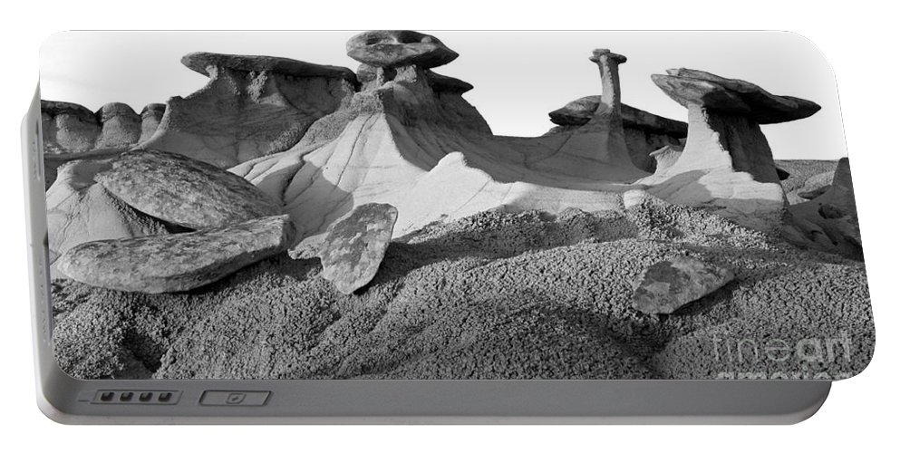 Badlands Portable Battery Charger featuring the photograph Badlands Profile by Vivian Christopher