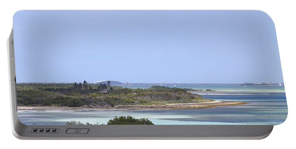 Atlantic Portable Battery Charger featuring the photograph Bahia Honda by Rudy Umans